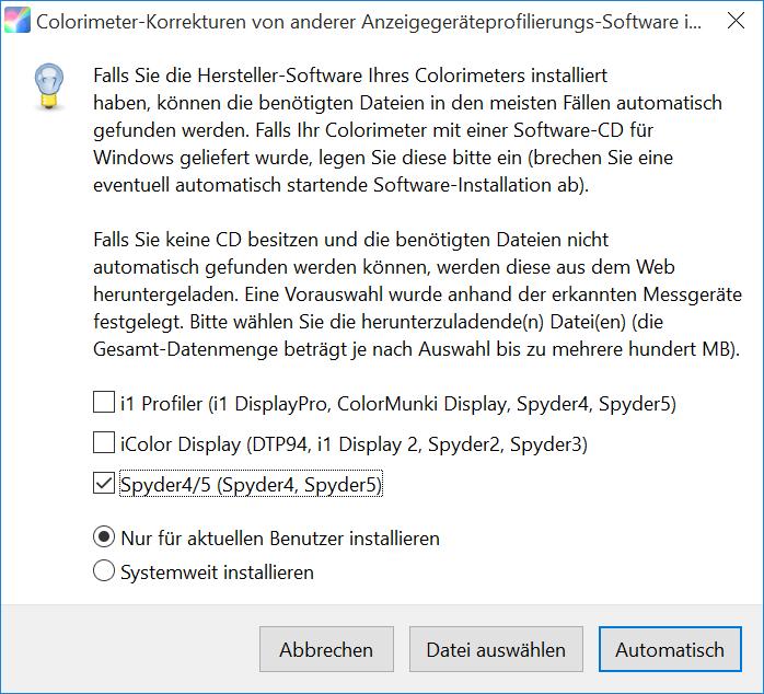 DisplayCAL und ArgyllCMS - Anspruchsvolle Monitorkalibrierung und